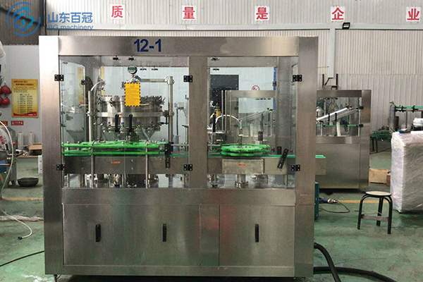 Beer canning line