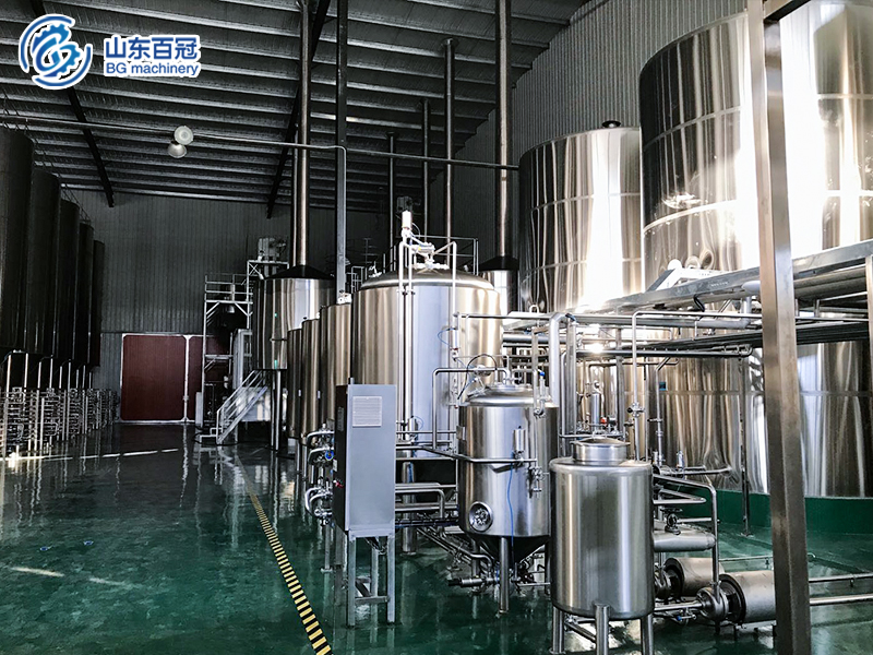 5000-brewhouse,commercial brewery equipment ,beer brewing equipment ,beer equipment