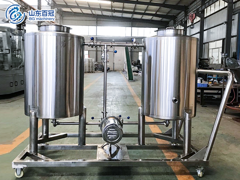 Beer equipment ,brewery CIP system ,cleaning equipment for brewery,beer equipment