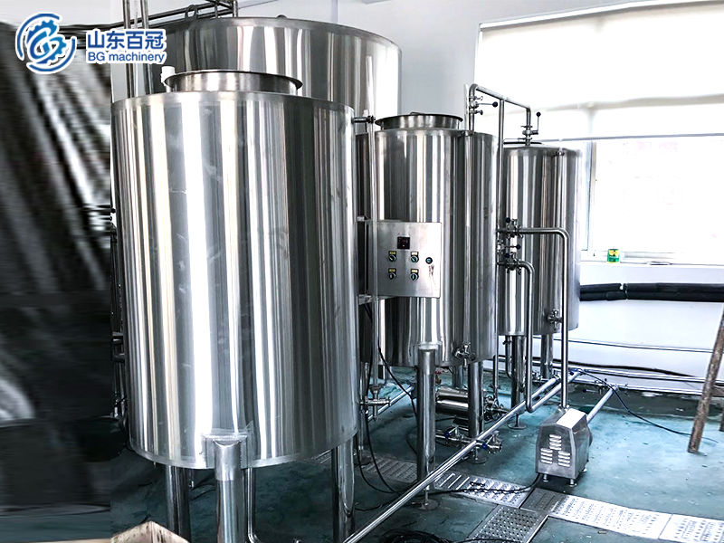 Fixed-CIP-system-for-brewery-CIP-equipment,Beer equipment ,brewery cleaning equipment ,beer brewing equipment